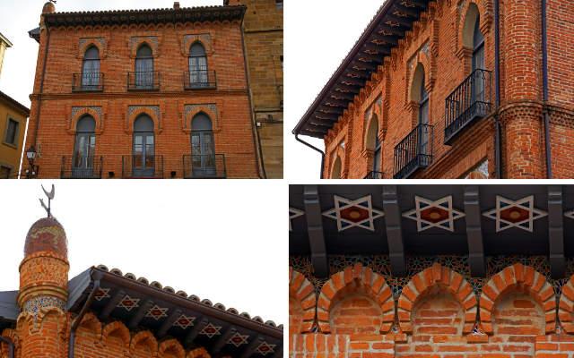 Montaje sobre la Casa Dolci - Composición de Destino Castilla y León