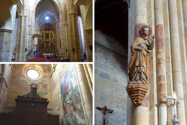 Interior de la Iglesia de Santa María de Azogue - Composición de Destino Castilla y León