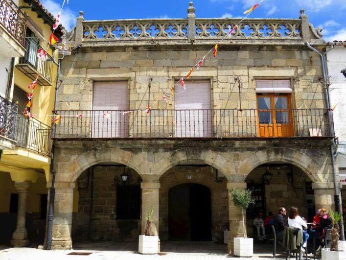 Plaza Mayor de El Barco de Ávila - Fuente: avilaconniños.com
