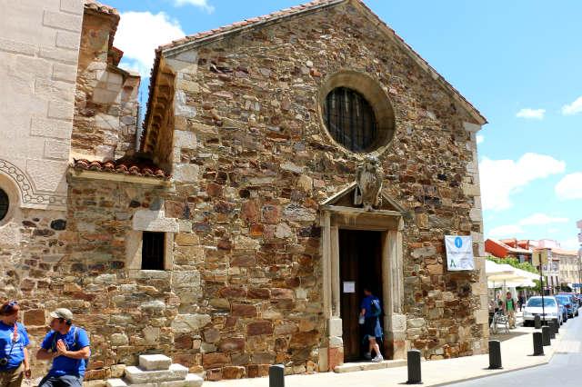 Iglesia de las Emparedadas, junto a la actualmente Oficina de Turismo - Destino Castilla y León