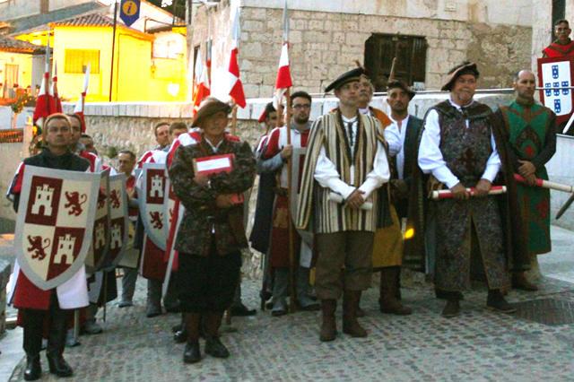 Llegada de las delegaciones reales - Imagen de Tordesillas al Día