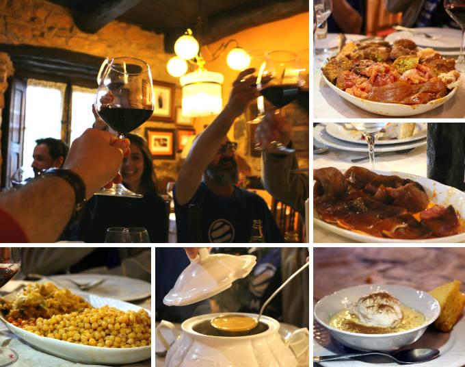 Cocido maragato en Restaurante Casa Juan Andrés de Castrillo de los Polvazares - Destino Castilla y León