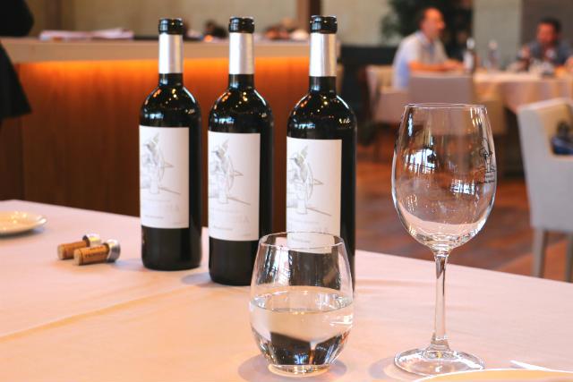 Vinos tintos disfrutados durante la comida - Destino Castilla y León