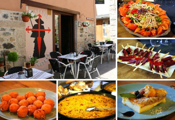 Comida en el Restaurante El Bordón de Molinaseca - Destino Castilla y León