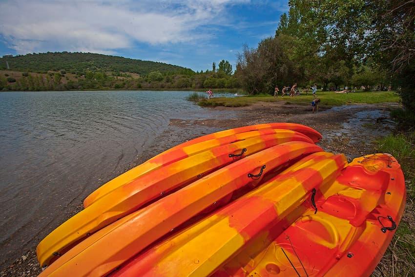 Lago de Carucedo en El Bierzo