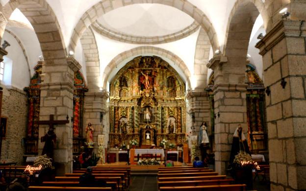 Interior de la Iglesia de San Nicolás de Bari - Destino Castilla y León