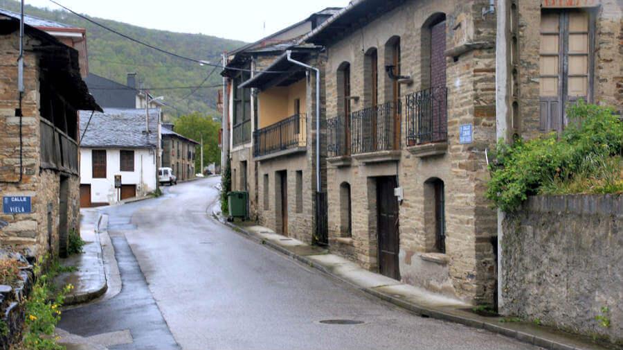 Trabadelo en El Bierzo (León) Fuente: Albergues del Camino de Santiago