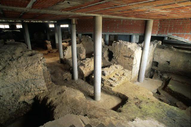 Yacimiento romano de Aedes Augusta de Asturica Augusta - Imagen de Dicyt
