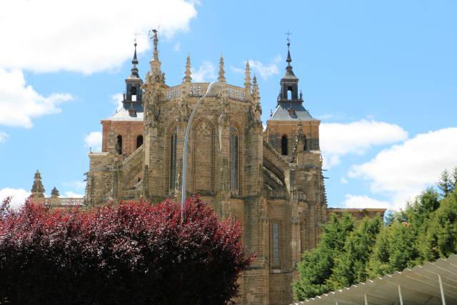 Ábside de la Catedral de Astorga - Destino Castilla y León