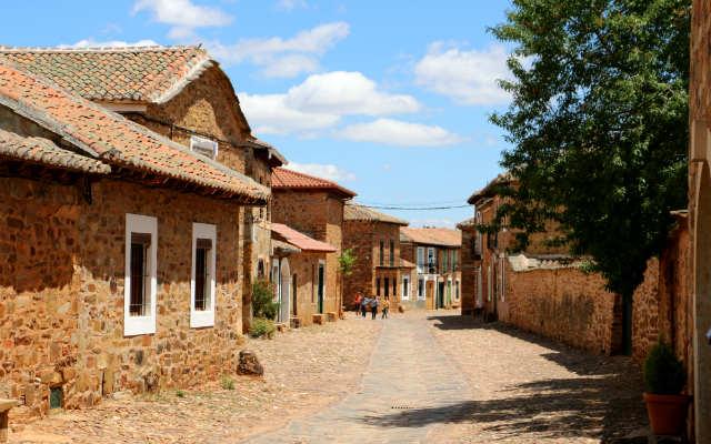Arquitectura popular de Castrillo de los Polvazares - Destino Castilla y León