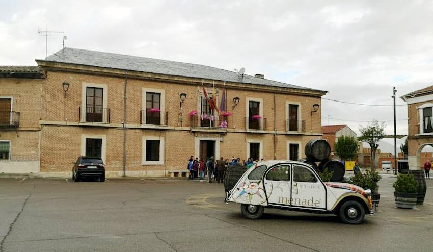 Fachada Ayuntamiento de La Seca - Destino Castilla y León