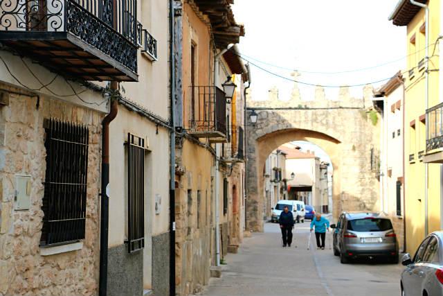 Interior del arco de la Calle Real - Destino Castilla y León