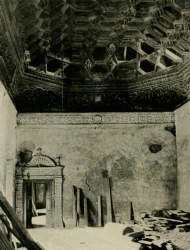 Estado del interior del palacio antes de las intervenciones - Imagen de Wikipedia