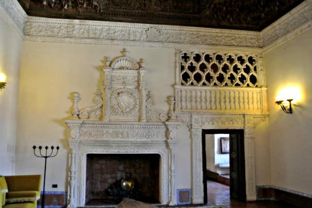 Sala de los embajadores del Palacio de los Condes de Miranda - Imagen de ElPoderdelArte