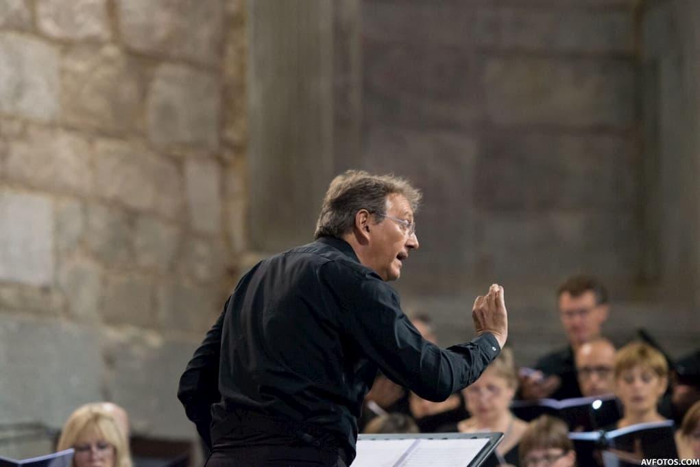 Maestro Peter Phillips en el Festival Internacional de Música de Las Navas del Marqués (1)