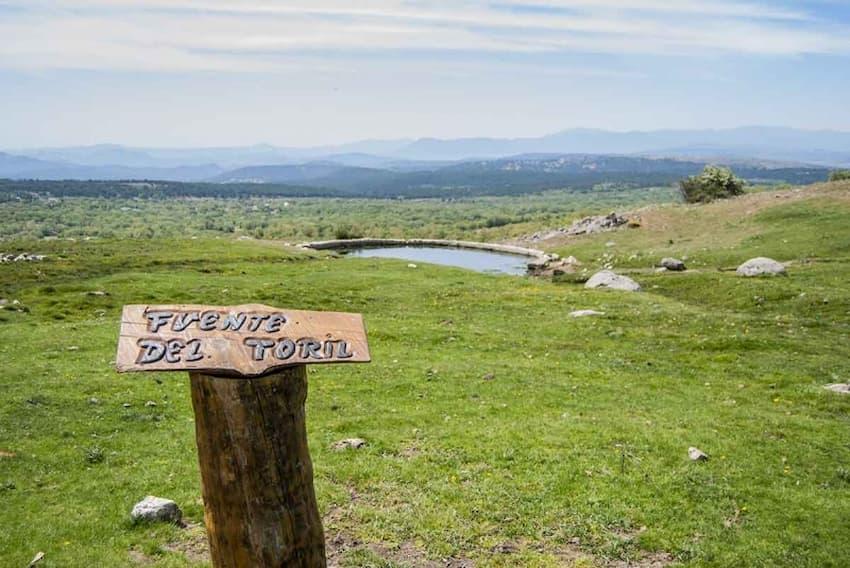 Fuente del Toril - Rutas de la Dehesa Boyal y el Páramo Dehesa Boyal y Páramo