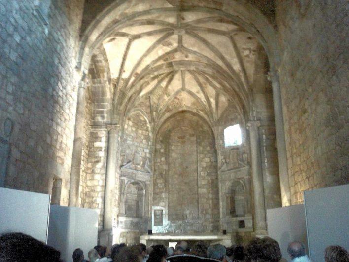 Interior del Convento de Santo Domingo y San Pablo