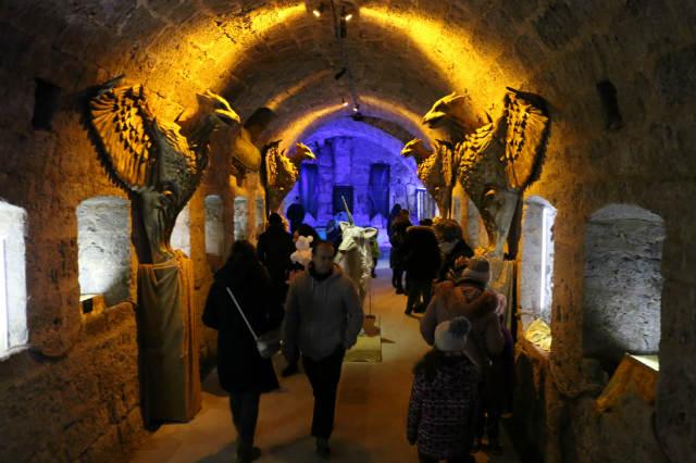 interior del Castillo Encantado