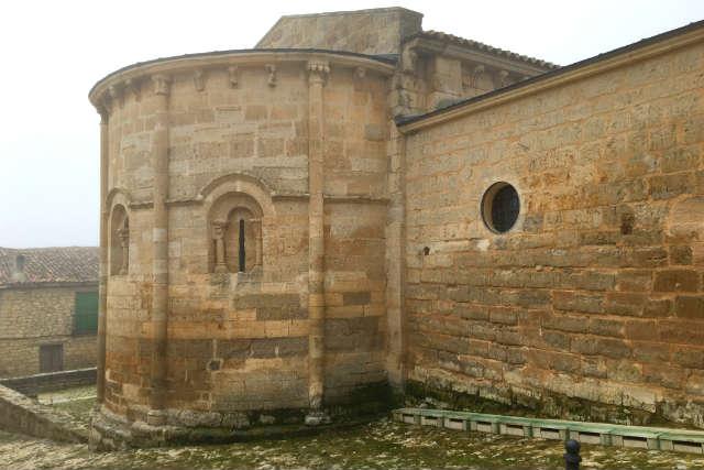 Ábside de San Miguel de Trigueros del Valle - Destino Castilla y León