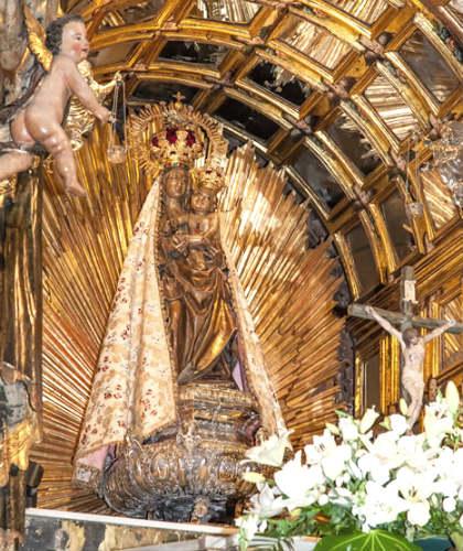 Imagen de la Virgen de la Encina de Ponferrada - Imagen de la Iglesia