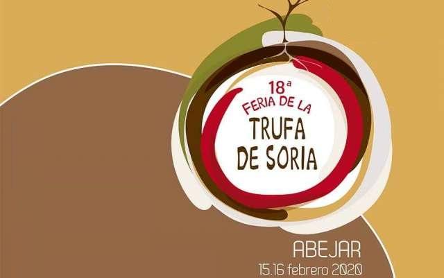 Cartel de la XVIII Feria de la Trufa Negra de Soria