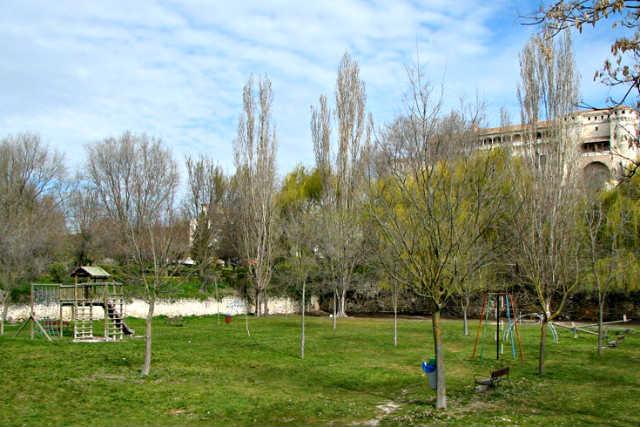 Parque de la Huerta del Duque de Cuéllar - Imagen de Cuellar