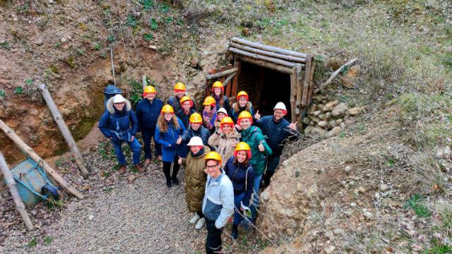 Visitando las minas de manganeso de Puras de Villafranca - Castilla y León TB