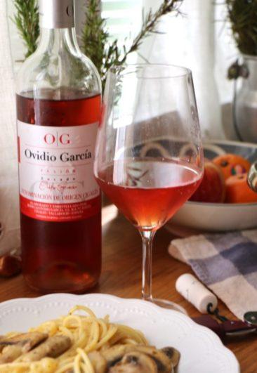 Copa de vino rosado Ovidio Garcia - Destino Castilla y León