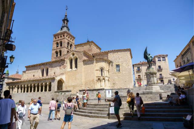 Plaza de Medina del Campo en Segovia - Imagen de Turismo Segovia