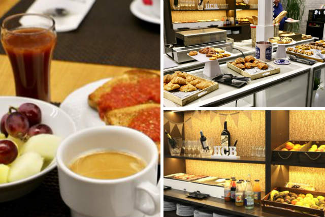 Desayunos del Hotel Ciudad de Burgos - Destino Castilla y León
