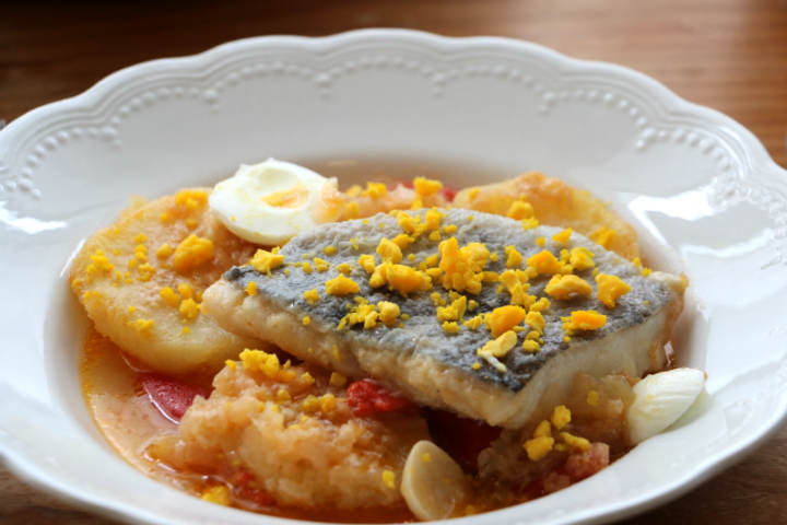 Presentación del Bacalao a la Tranca - Destino Castilla y León