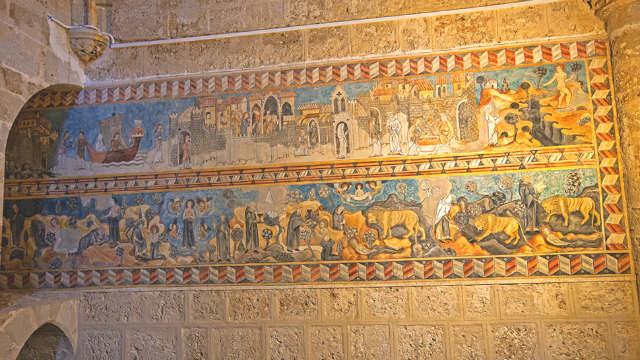Fresco de Santa María Egipciana - Imagen de Cardinalia