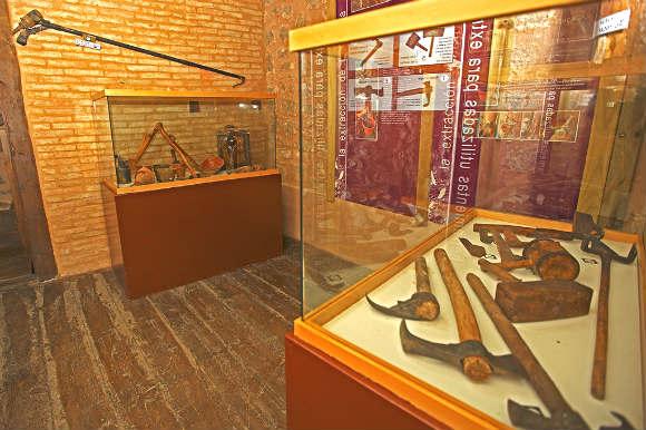 Interior del museo de la Resina - Imagen de Cardinalia