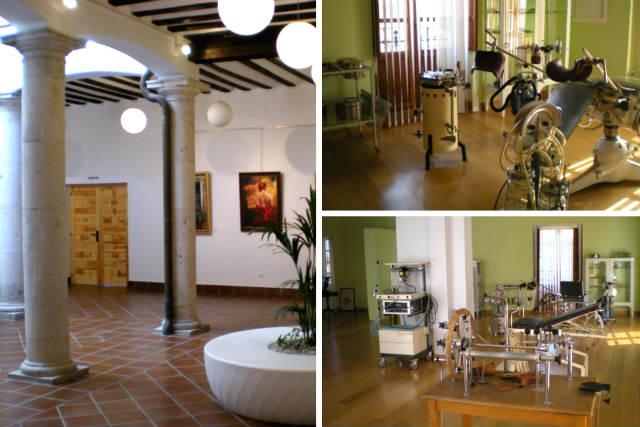 Colecciones del Museo de la Medicina de Ampudia - Composición de Destino Castilla y León