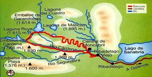 Ruta de senderismo por el Cañón del Cárdena- Imagen de Turismo Sanabria