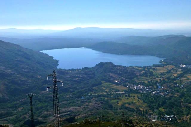 Vistas del Lago de Sanabria desde la ruta del Cañón del río Cárdena - Imagen de Ferpatillas