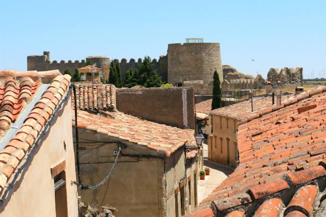Castillo de Urueña desde las murallas - Destino Castilla y León