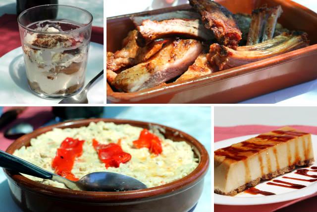 Comiendo en el Rte. Parrilla El Corte de Toro de Guímara - Destino Castilla y León