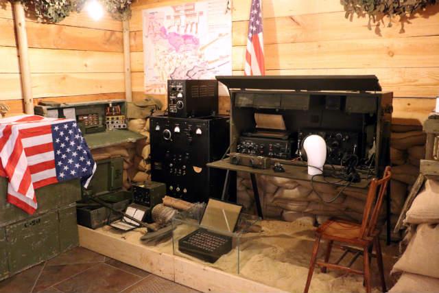 Equipos de radio del Desembarco de Normandía en el Museo de la Radiotransmisión de Belorado - Destino Castilla y León
