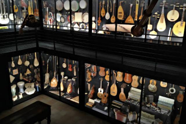 Colección de instrumentos musicales del Museo de los instrumentos de Luis Delgado - Imagen de Alejandro Chanes
