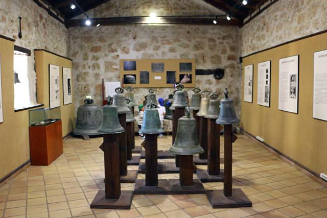 Interior del museo de las Campanas de Urueña - Destino Castilla y León
