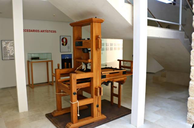 Réplica de la imprenta de Guterberg - Destino Castilla y León