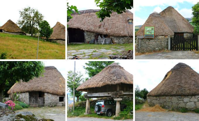 Ejemplos de pallozas que podéis ver en Piornedo, Lugo - Destino Castilla y León