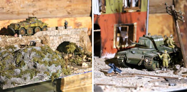 Nuevos dioramas a escala incluidos en la exposición - Destino Castilla y León