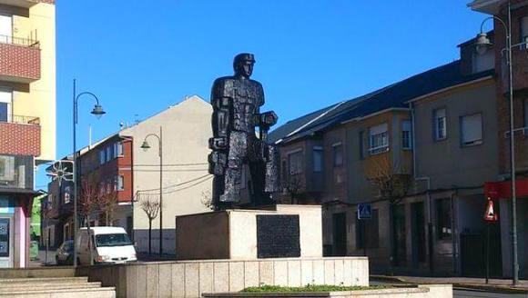 Monumento al minero en Fabero - Imagen de abc