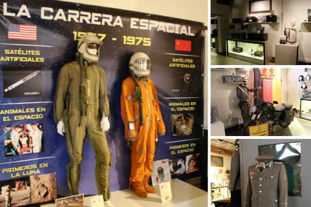 Sala dedicada a la Guerra Fría y el espionaje en el Museo de la Radio Transmisión de Belorado - Destino Castilla y León