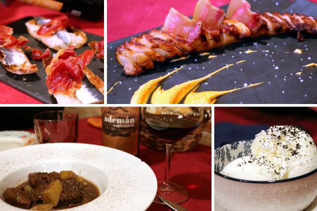 Menú de raciones en el restaurante La Esquina de Colás - Destino Castilla y León