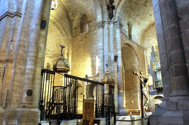 Interior de la Colegiata de Toro - Destino Castilla y León