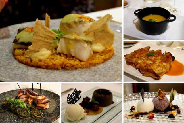 Platos del menú del Restaurante Doña Negra de Toro - Destino Castilla y León