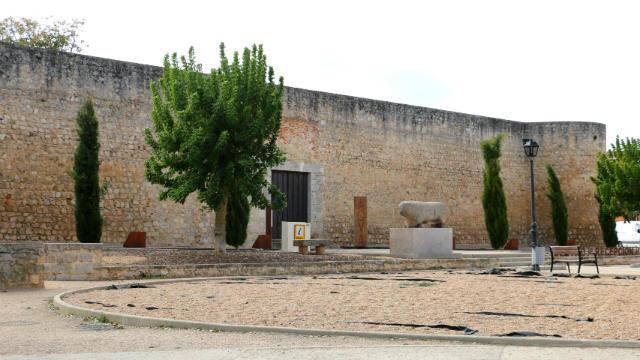 Verraco de Toro junto al antiguo alcázar de la ciudad - Destino Castilla y León